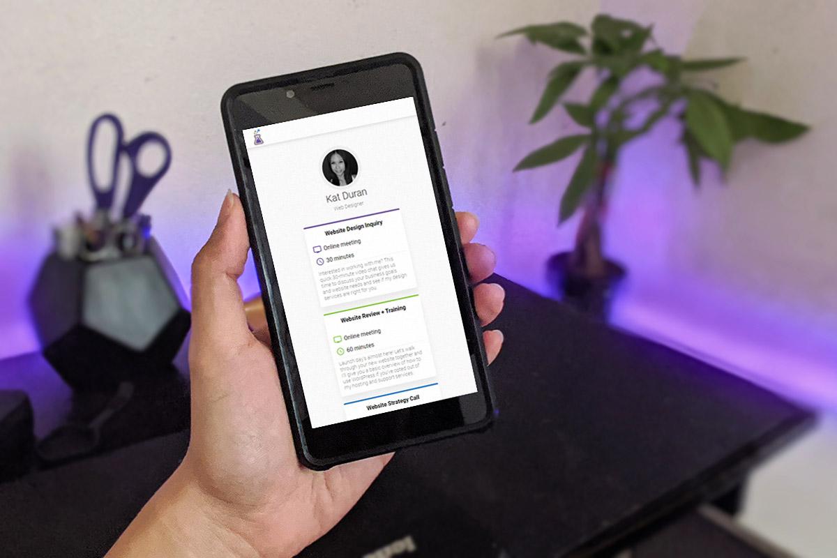 MeetFox Review - Holding phone